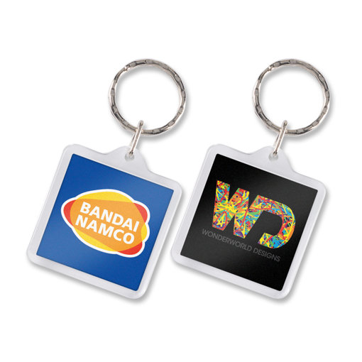 Picture of Lens Key Ring - Square