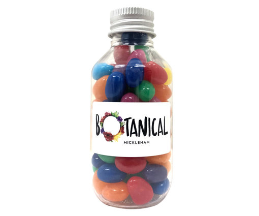 Picture of No Neck jar with Mini jelly beans