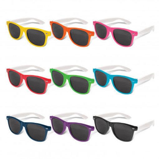 Picture of Malibu Premium Sunglasses - White Arms