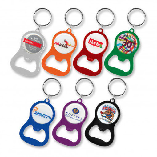 Picture of Chevron Bottle Opener Key Ring