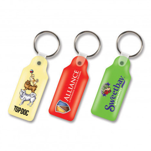 Picture of Flexi Resin Key Ring - Rectangle