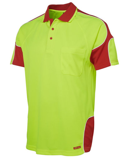 Picture of HI VIS S/S ARM PANEL POLO