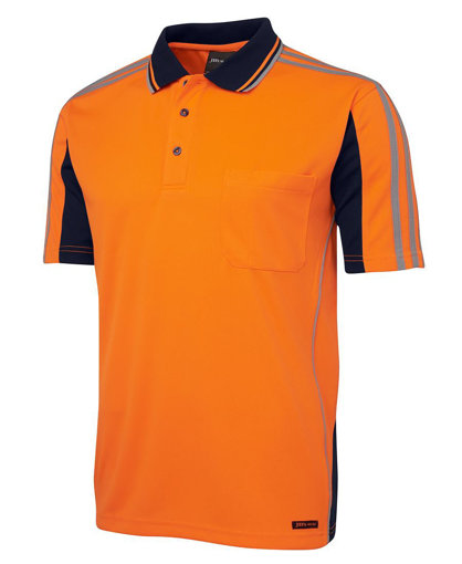 Picture of HI VIS S/S ARM TAPE POLO