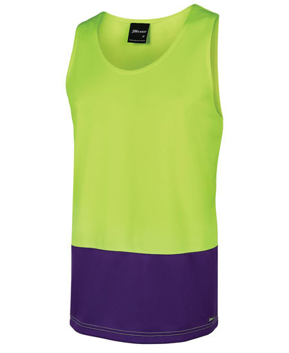 Picture of HI VIS TRADITIONAL SINGLET