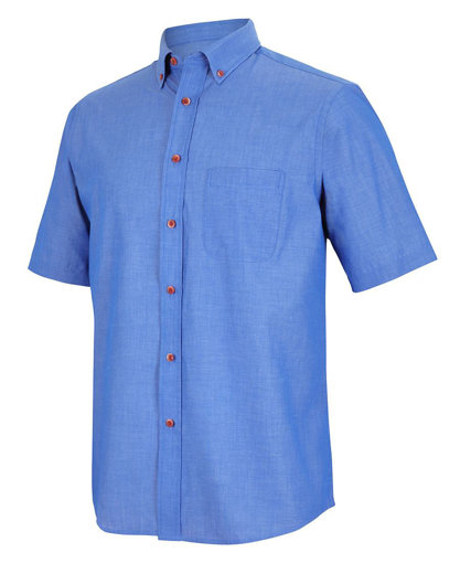 Picture of S/S INDIGO CHAMBRAY SHIRT