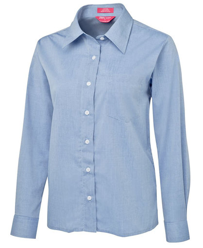 Picture of LADIES ORIGINAL L/S FINE CHAMBRAY SHIRT
