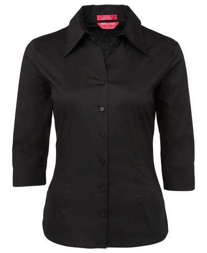 Picture of LADIES 3/4 FITTED SHIRT