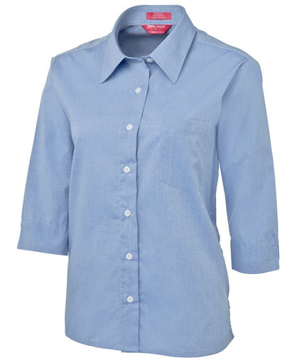 Picture of LADIES ORIGINAL 3/4 FINE CHAMBRAY SHIRT