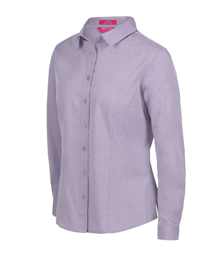 Picture of LADIES CLASSIC L/S FINE CHAMBRAY SHIRT