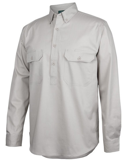 Picture of C OF C LONGREACH L/S CLOSEFRONT SHIRT