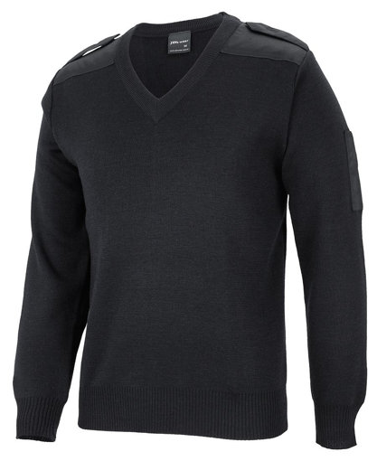 Picture of KNITTED EPAULETTE JUMPER