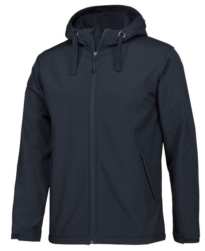Picture of PODIUM KIDS & ADULTS WATER RESISTANT HOODED SOFTSHELL JACKET